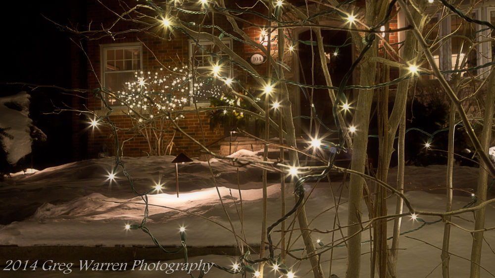 Photo in Abstract #night #lights #starburst #christmas