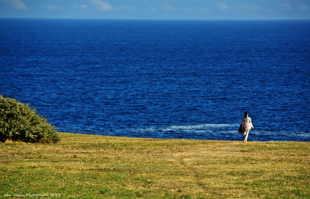 YOU AND THE OCEAN by JohnVagios