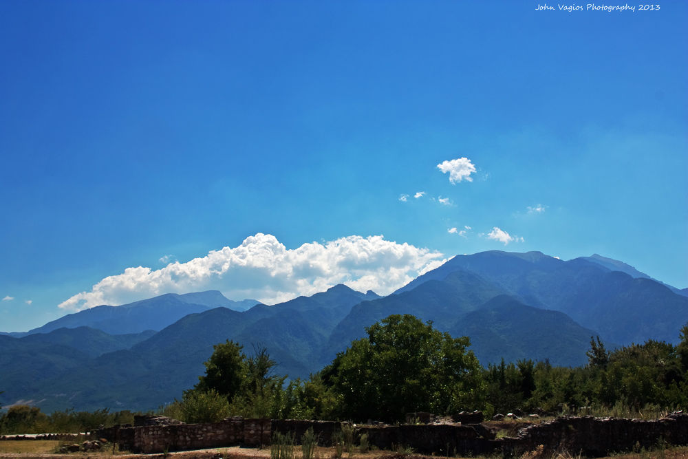 MOUNTAIN OLYMPUS by JohnVagios
