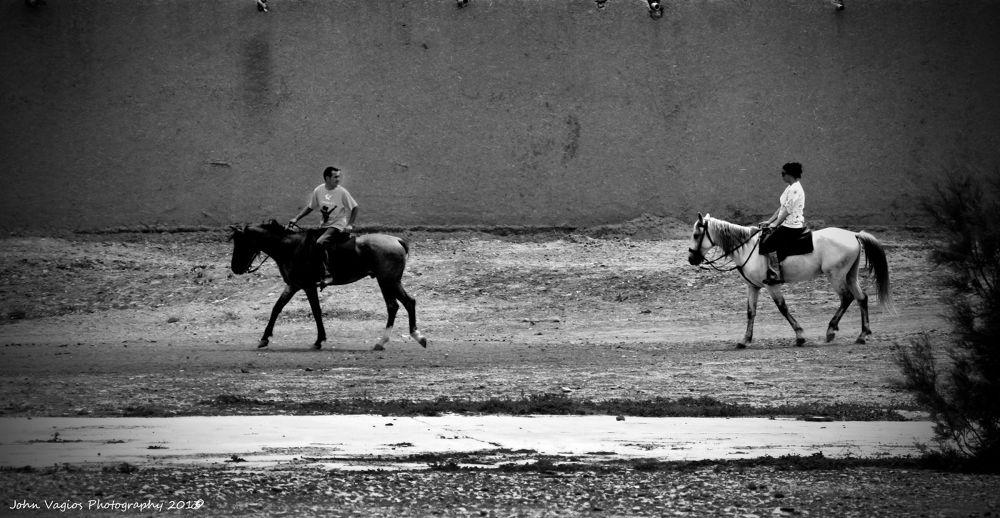 RIDE HORSES by JohnVagios