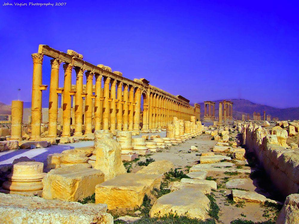 SYRIA : PALMYRA by JohnVagios