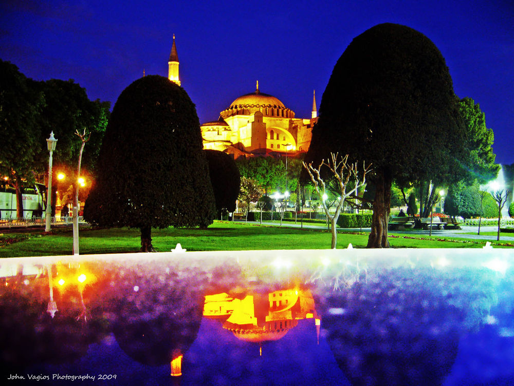 AGIA SOPHIA: ISTANBUL by JohnVagios