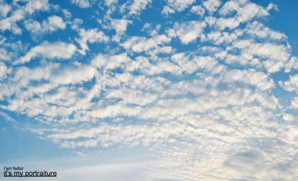 AWAN BIRU # BLUE SKY by fadlul