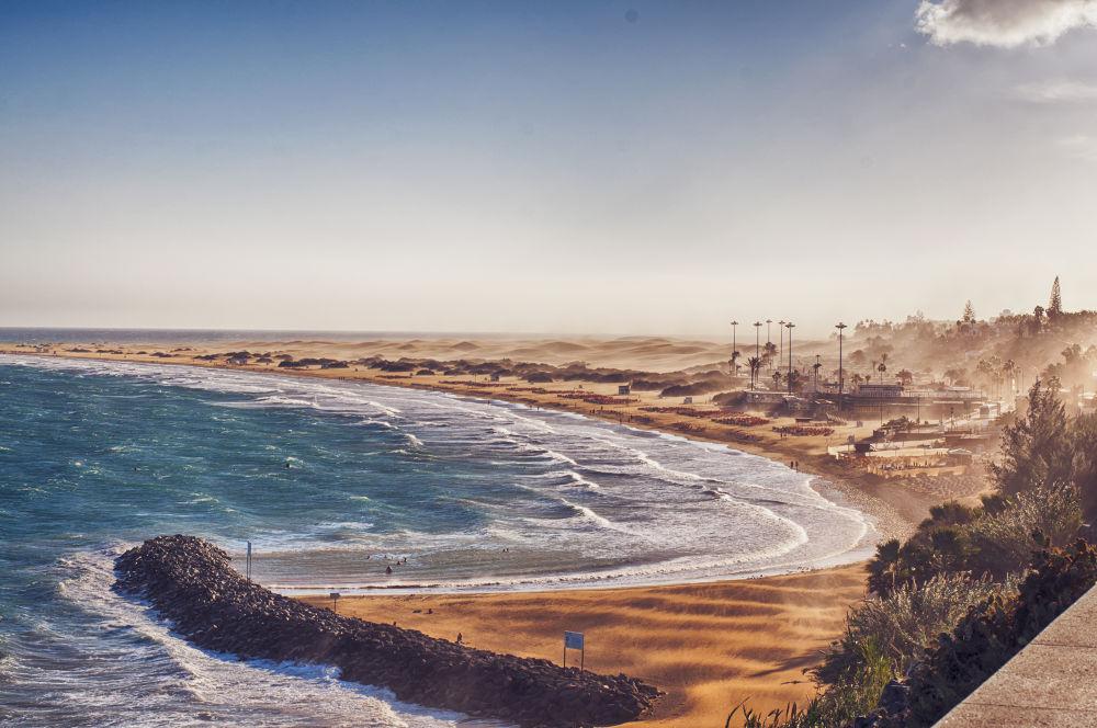 Gran Canaria Sand Storm by baarisa