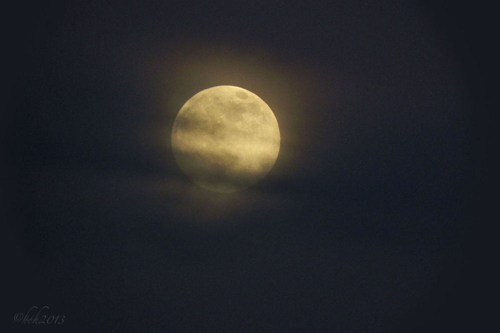 Super moon 2013 over NM by Edward Hudgeons