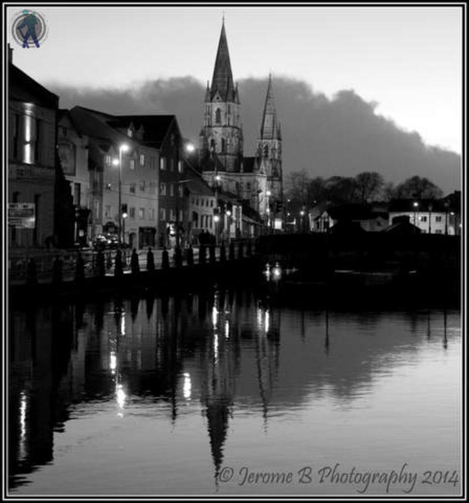 Photo in Black and White #jerome b photography #glimpses of ireland #cork #ireland #black & white