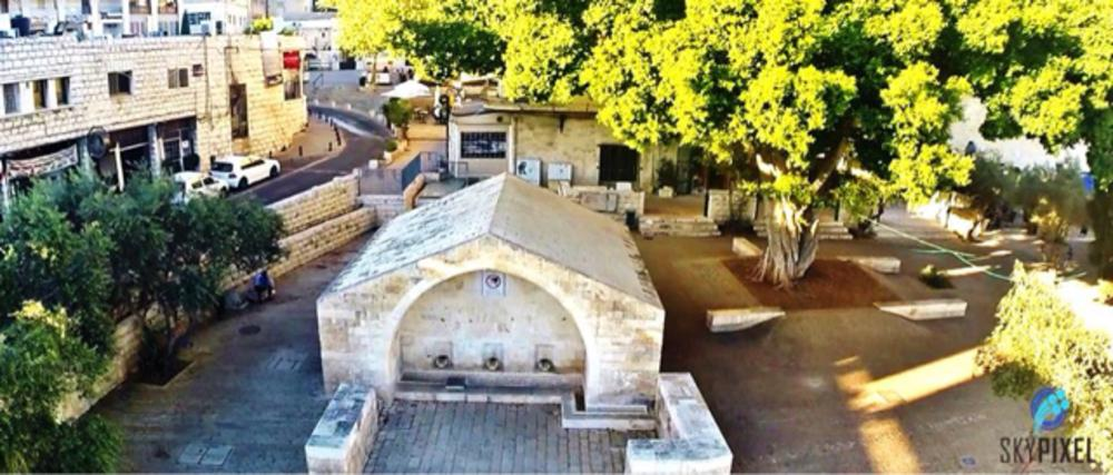 Photo in Random #nazareth #church #mary well #quadcopter #gopro