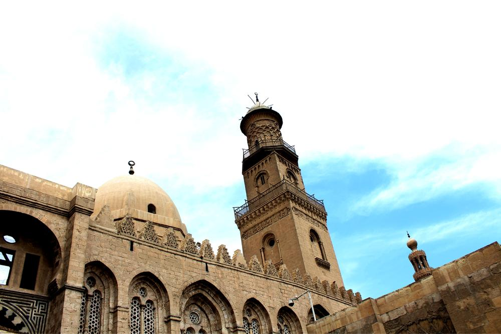 Ancient mosque in Egypt by Abdullah Zahr