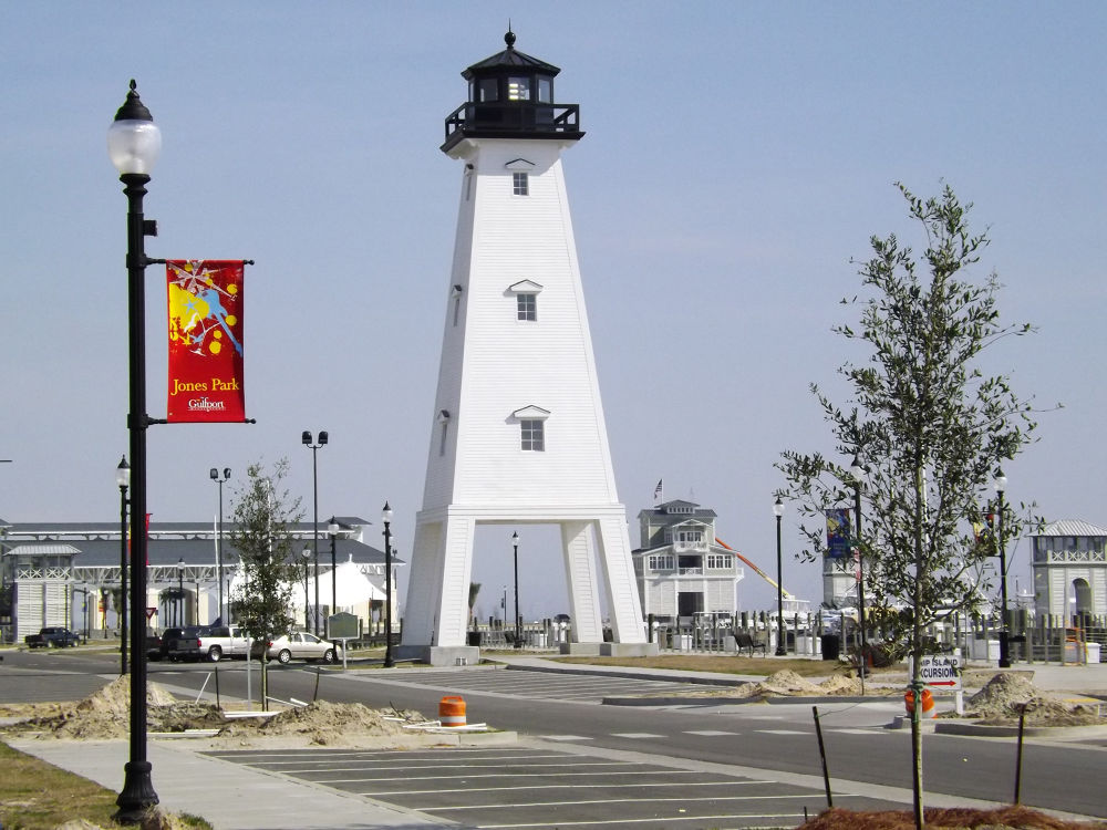 01-24-2013 - Lighthouse at Jones Park - Gulfport, MS #1 by rnspicer