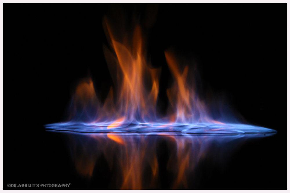 Vodka on fire by abhitrups2002