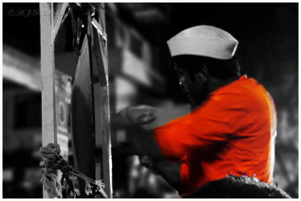 Photo in Black and White #street photography #black and white photography #selective color photography #canon