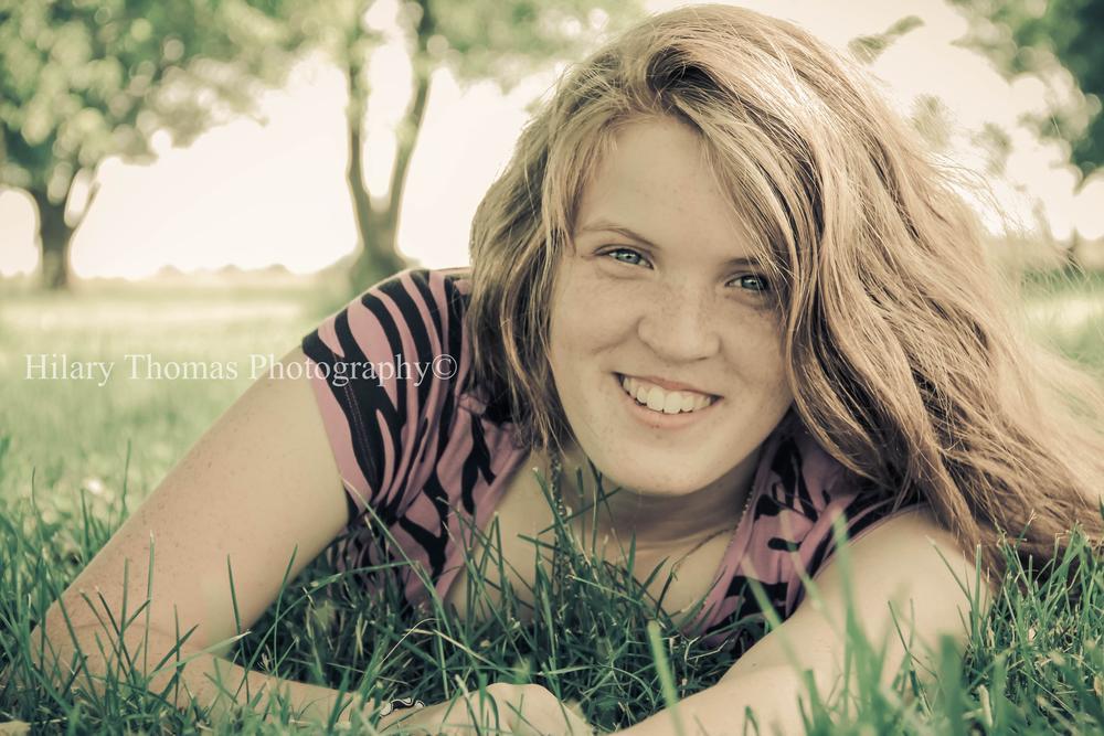 Josie- Senior Class of 2015 by Hilary Thomas