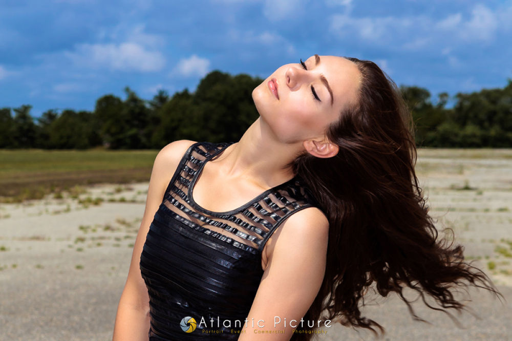 Photo in Random #alicia #model #portfolio #portrait #shoot #fantasy #girl #brunette #beautiful #brown #long #hair #young #woman #lady #black #dress #deserted #dramatic #atlantic #picture #photograpy #salisbury #maryland #md