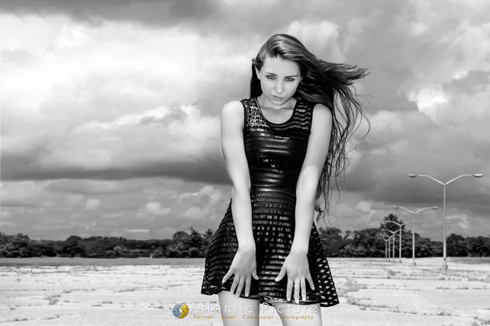 Photo in Random #alicia #model #shoot #portrait #portfolio #fantasy #girl #brunette #beautiful #brown #long #hair #young #woman #lady #black #dress #deserted #dramatic #atlantic #picture #photograpy #salisbury #maryland #md