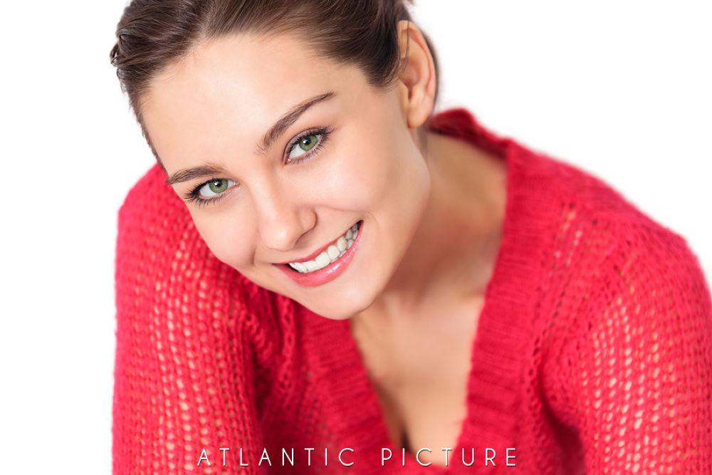 Photo in Portrait #alicia long #alicia #model #smiling