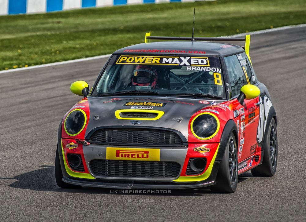 donington park race circuit by Simon Mallinder