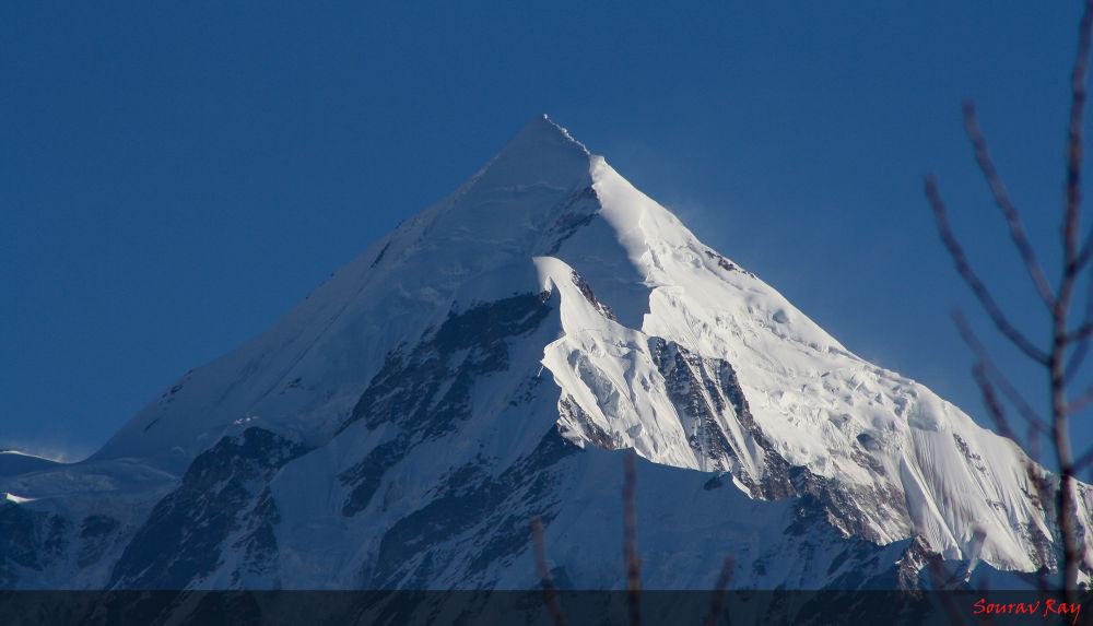 Pancha Chulli Peak, Himayalas by souravray