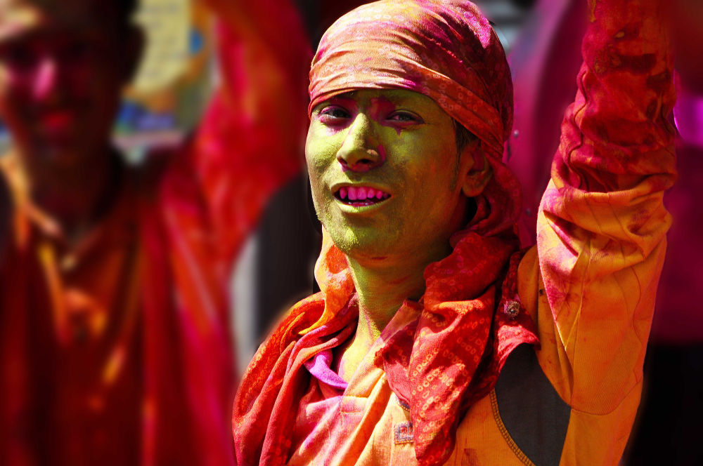 Holi .. a Hindu festival of colours .. by prabirbsen