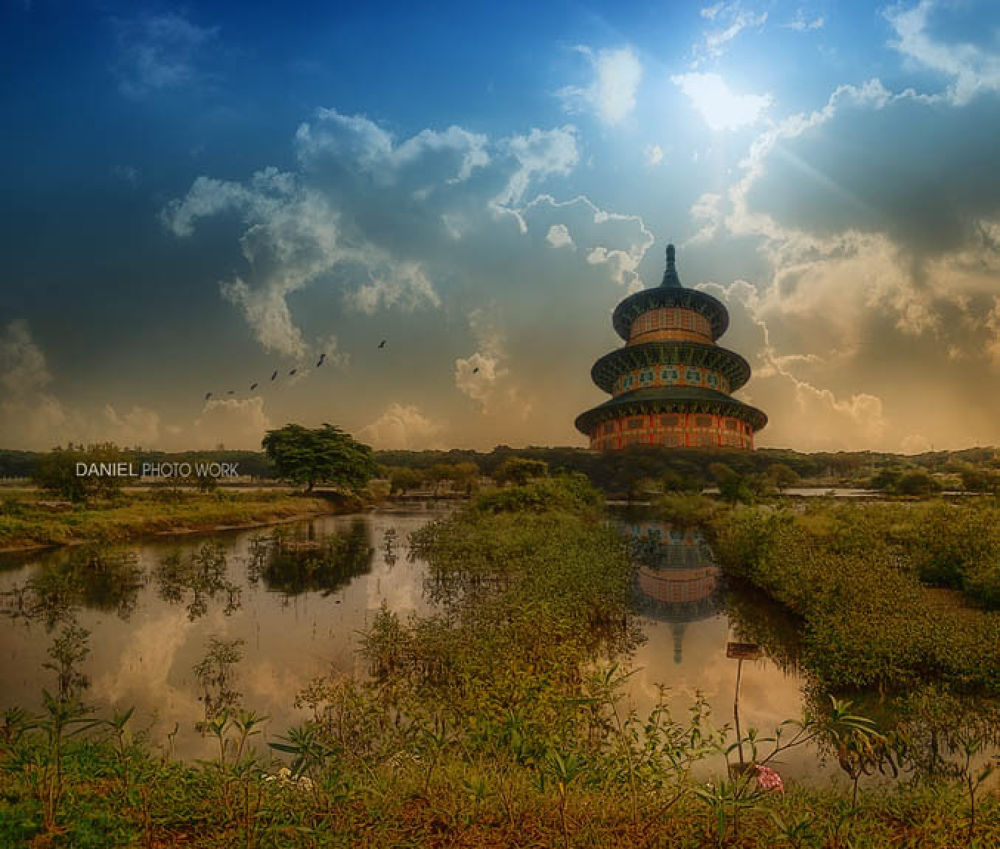Temple by danielchang