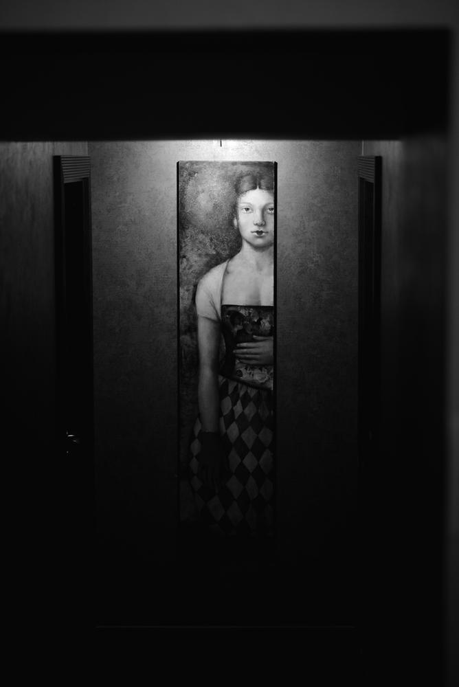 girl in the dark by Lauris Takadoshikiari