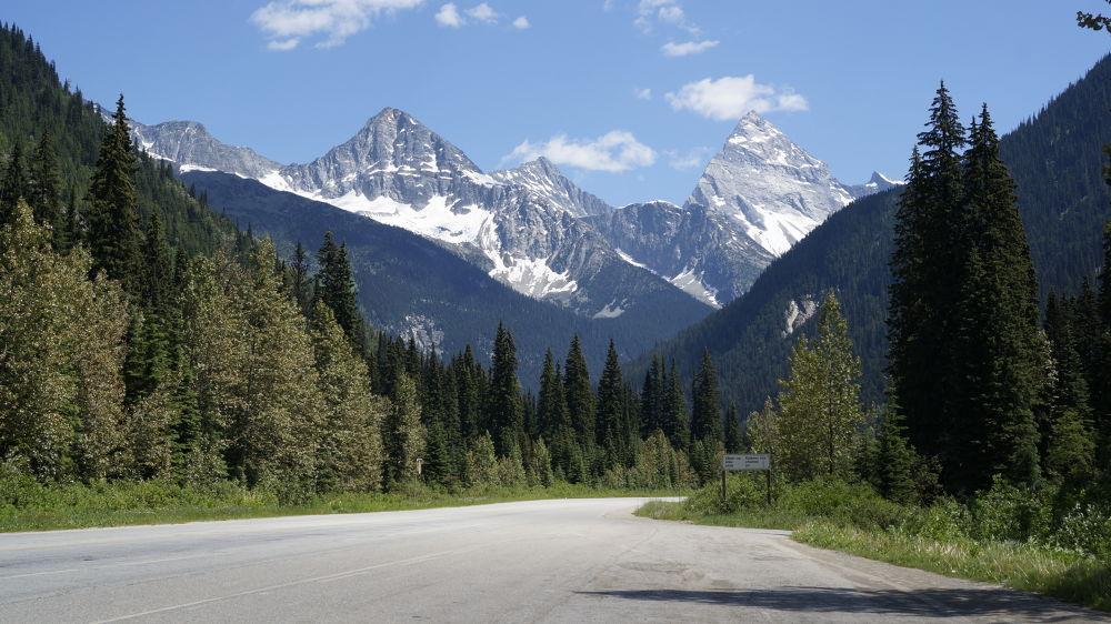 near Banff, Alberta by Loki17