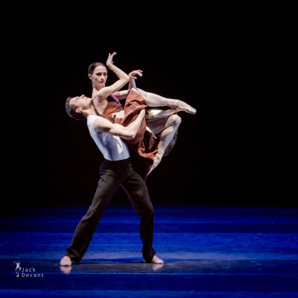 Anna Tsygankova in Hans van Manen piece by Jack Devant