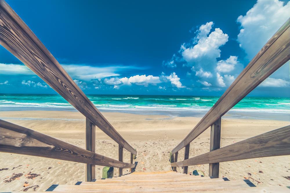 Sunny Beach by Jack Bates