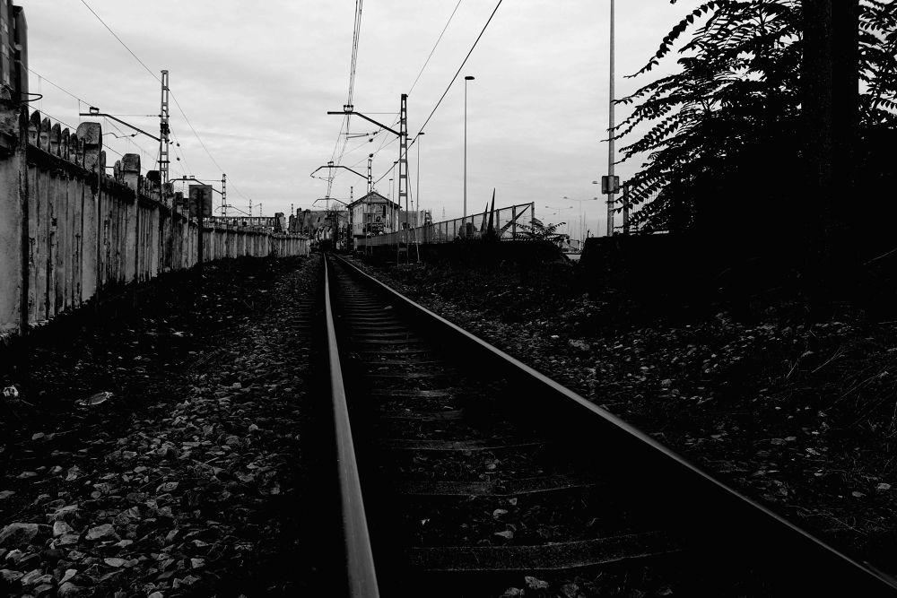 """""""Viajar en tren 1633"""" / Bernardo Guerra by bernardoguerra"""