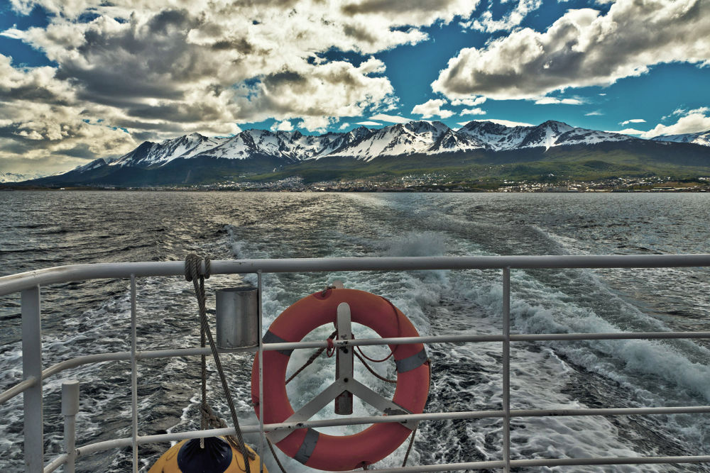 DEPARTING FRON THE PORT OF USHUAIA  by VICTORDEVILLE