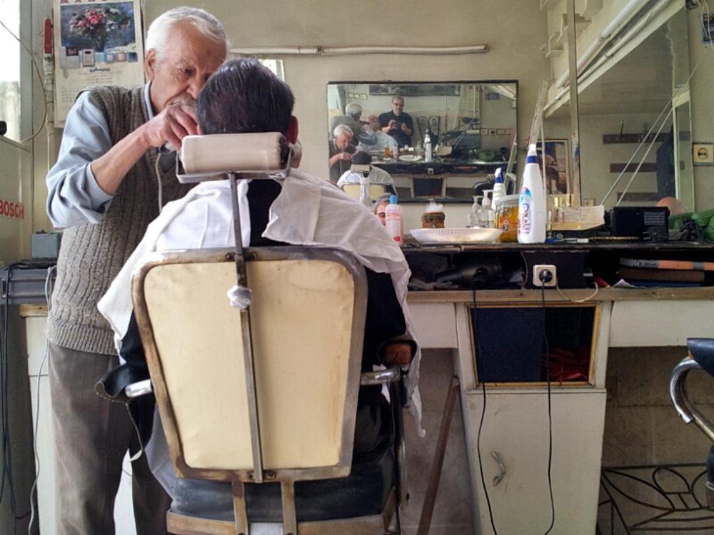 Barbershop   سلمانی by Aahmad Hezavei