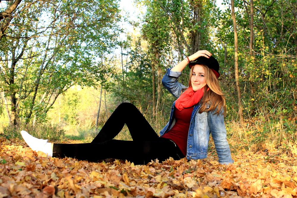 Photo in People #autumn #people #portrait