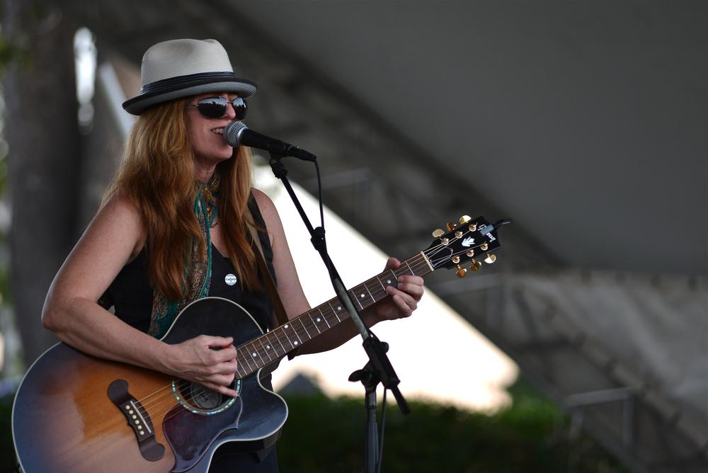 Susan Herndon at Groovefest, Norman, Oklahoma by M Tim Blake