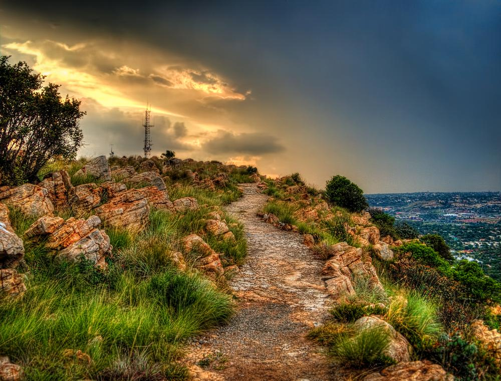 Path way to heaven?  by Justin Shifty Taylor