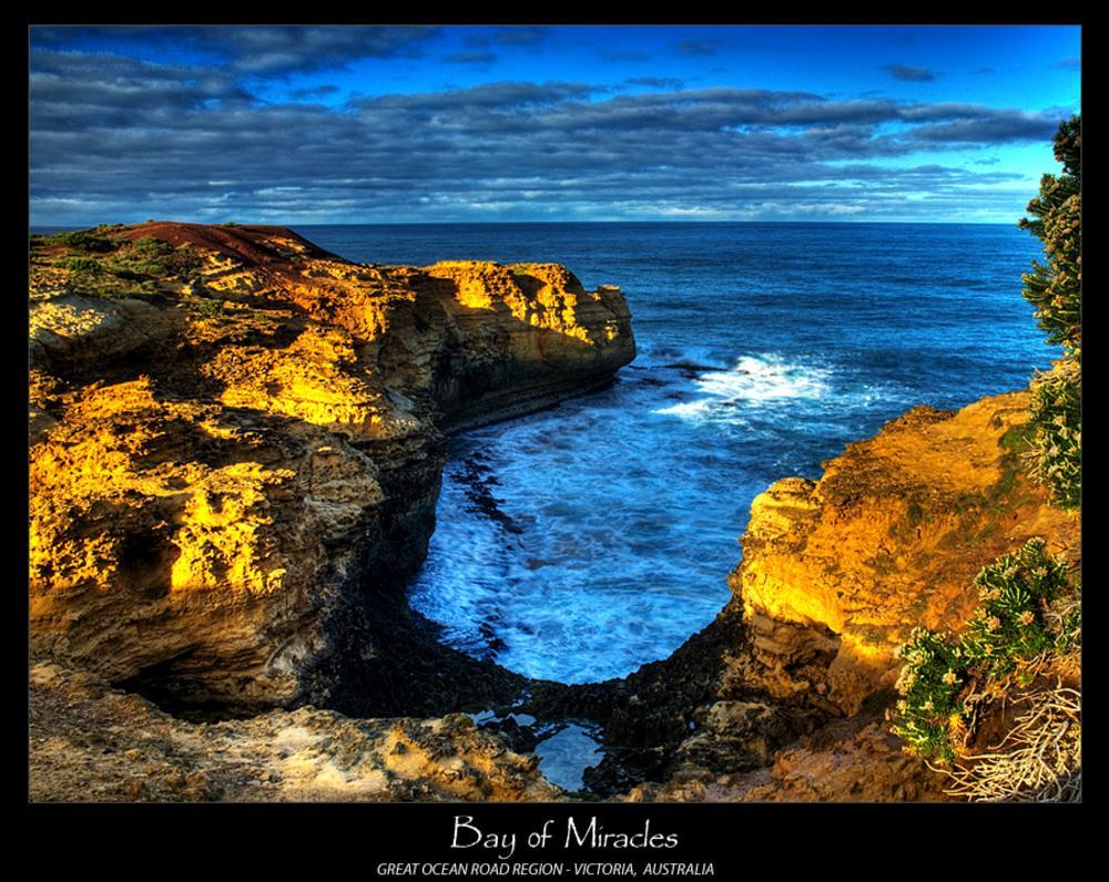 Photo in Sea and Sand #bay #coast #waves #greatocean road #victoria #australia #hdr