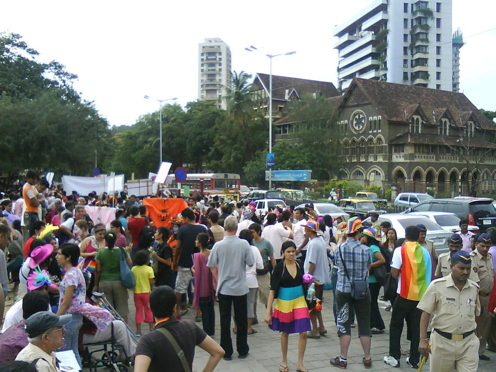 The after pride party by Praful Baweja