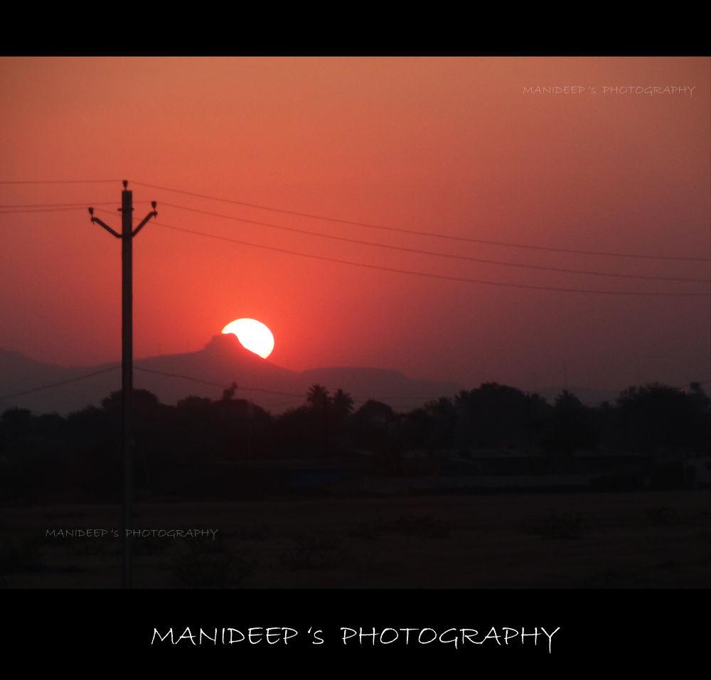 sun rise by manideep51