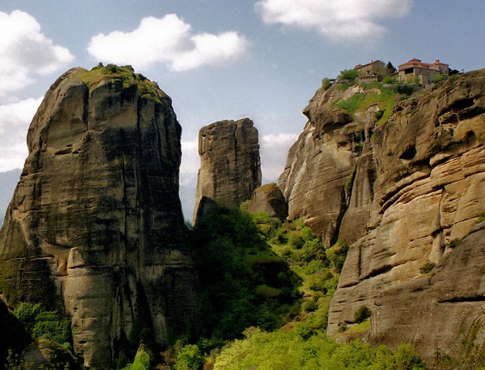 Photo in Landscape #greece #monastery #meteora #metamorfosis #rocks