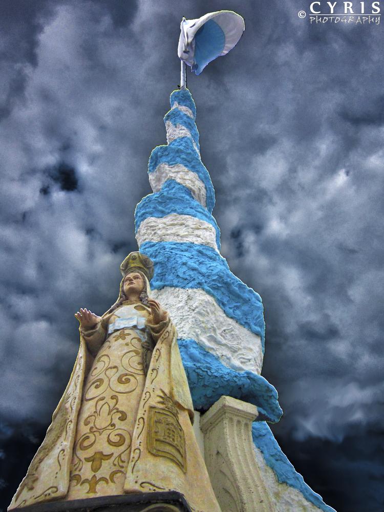 Virgen de la Merced by cyrisphotograph