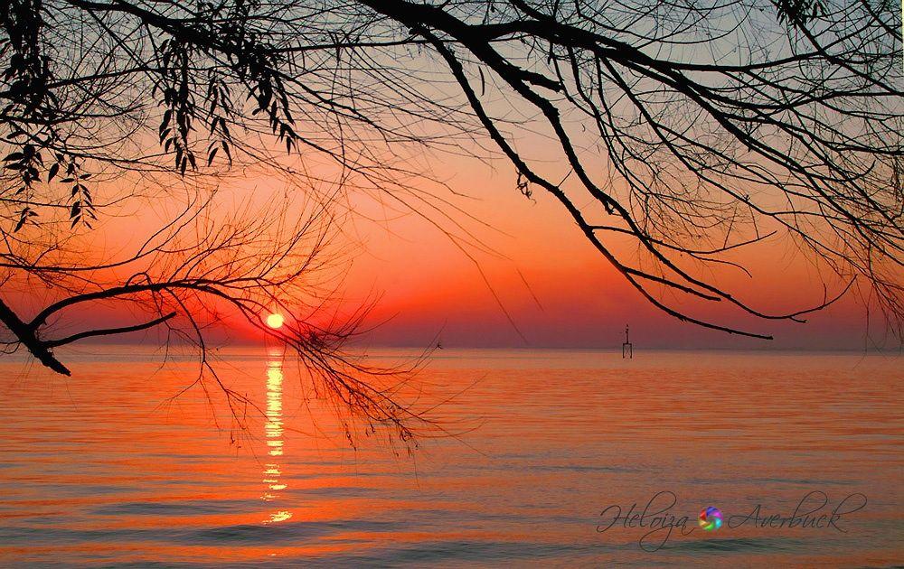 Sunset by Heloiza Averbuck