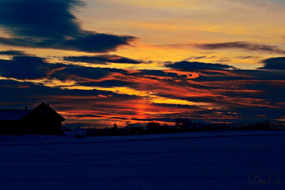 Sunset by Cosmina Damian