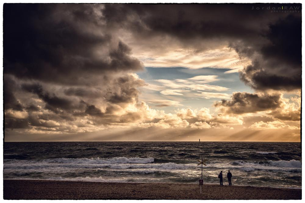 Photo in Nature #sylt #dramatic #sky #clouds #see #waves #water #sand #beach #weather #jordan #raw