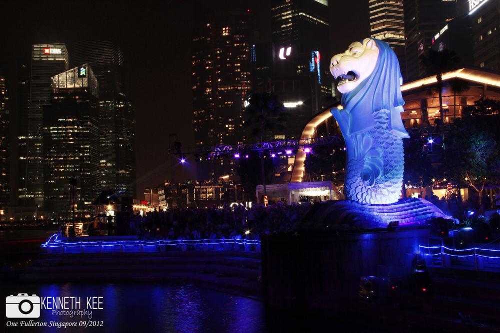 Merlion Singapore 40th Birthday by chengjun