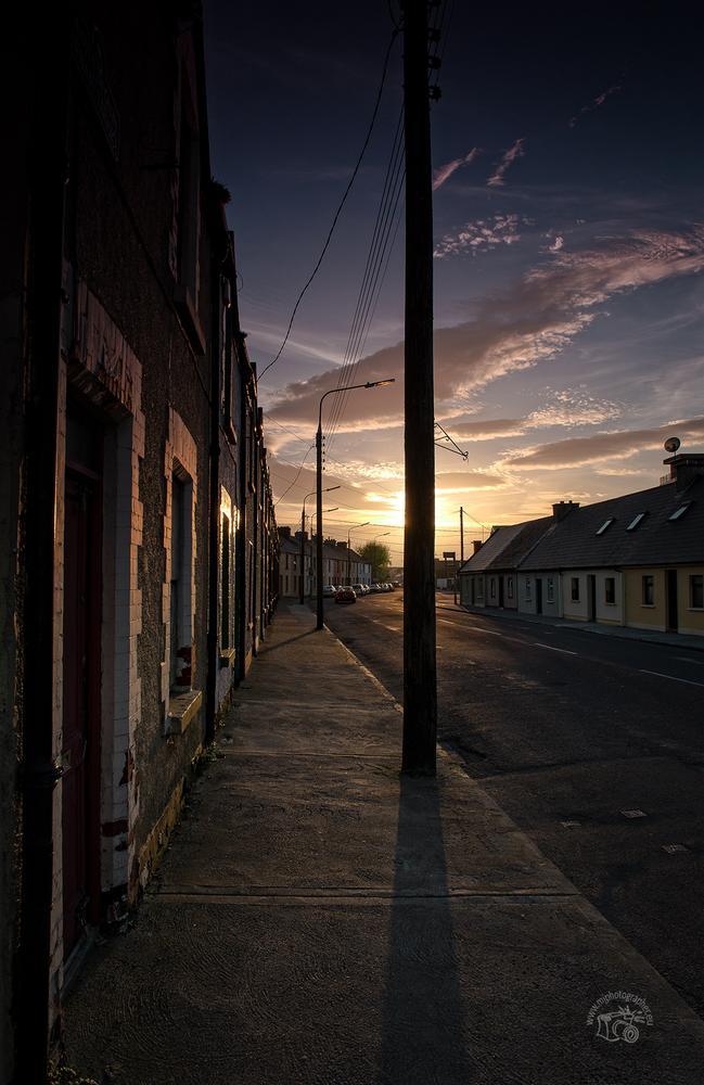 Urban terrace by sundown by Jega