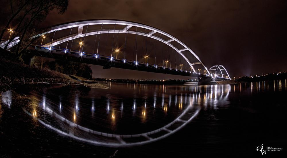 Photo in Architecture #torun #poland #bridge #river