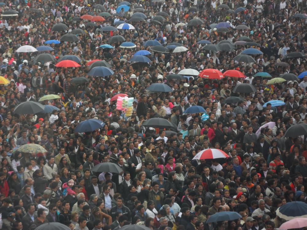 Photo in Journalism #religión #multitud