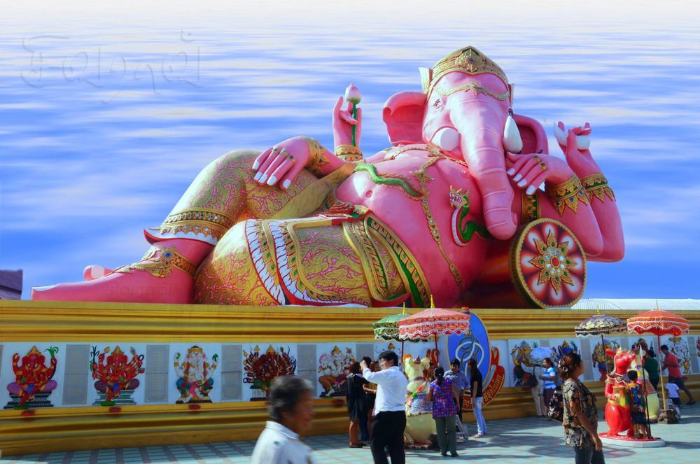 lord ganesha at bangkok tour captured by sivarao82
