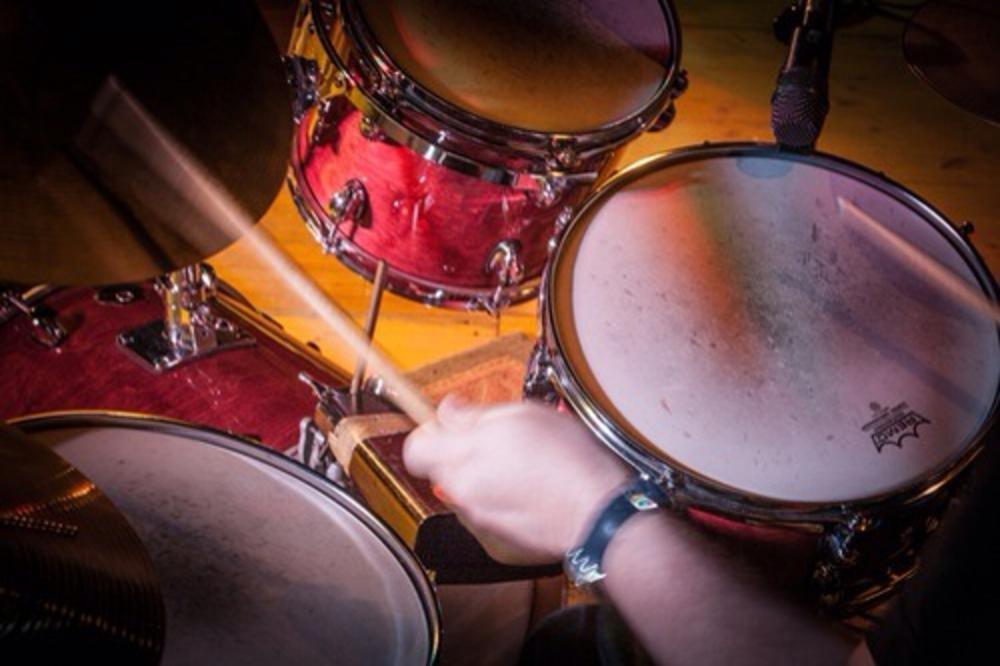 Photo in Concert #drum #drumstick #groove #jazz #drummer #yamaha #concert #fusion