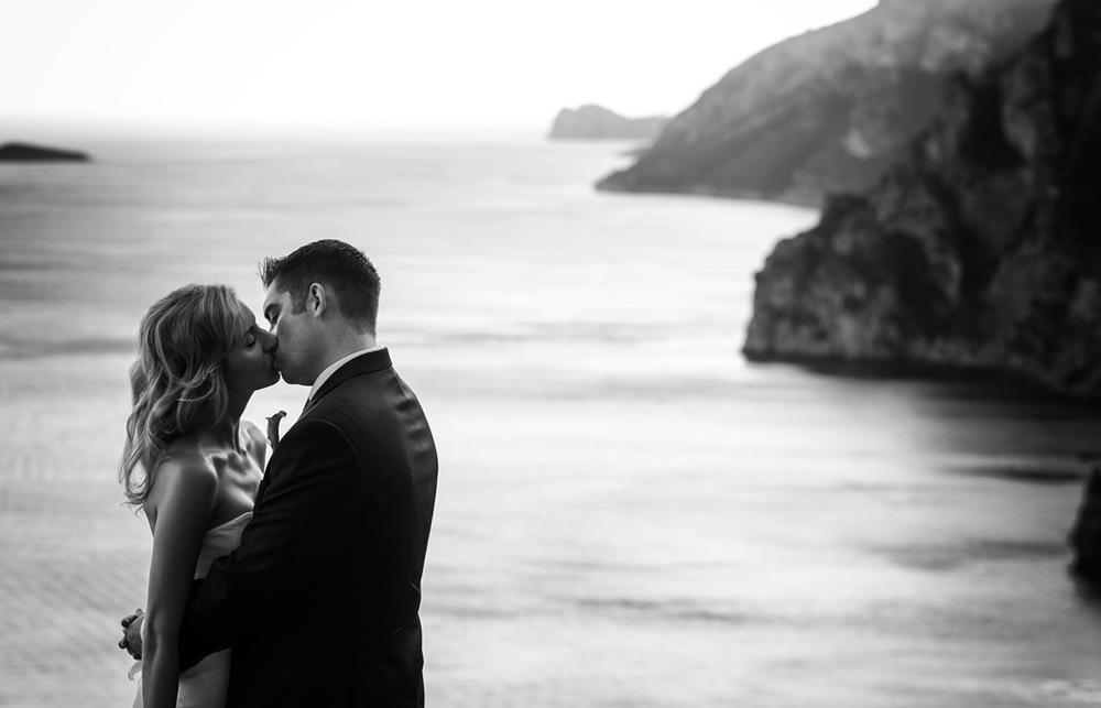 Wedding in Positano - Amalfi Coast views by alfonsolongobardi_italyweddingphotos