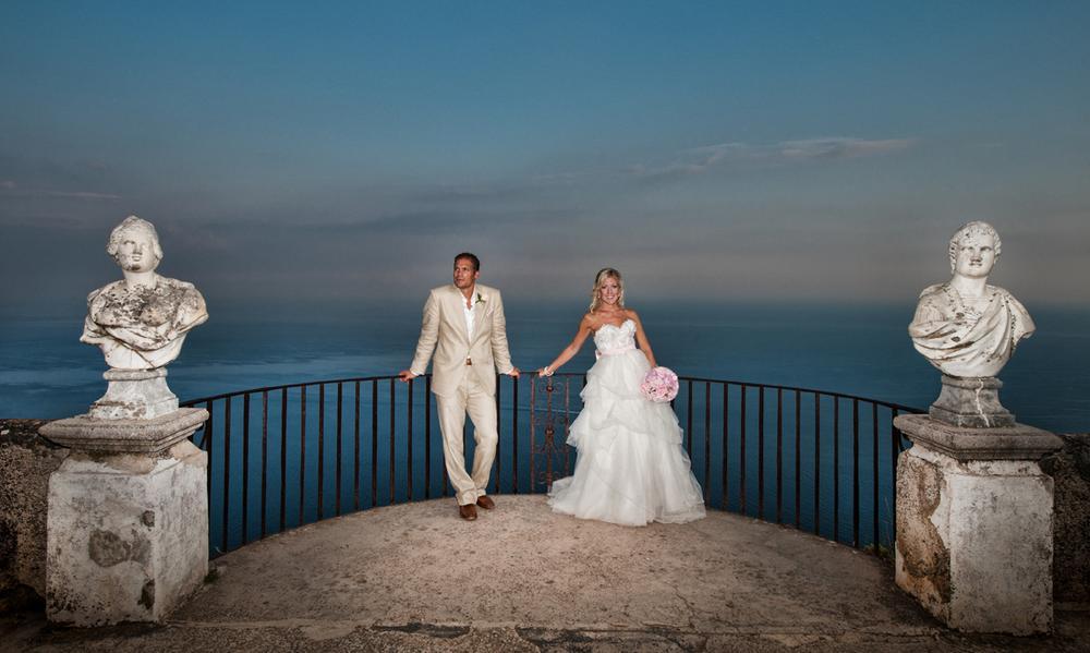 Wedding at Villa Cimbrone in Ravello - Infinity Terrace by alfonsolongobardi_italyweddingphotos