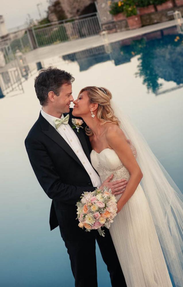 Wedding in Ravello at Hotel Caruso - Infinity Pool by alfonsolongobardi_italyweddingphotos